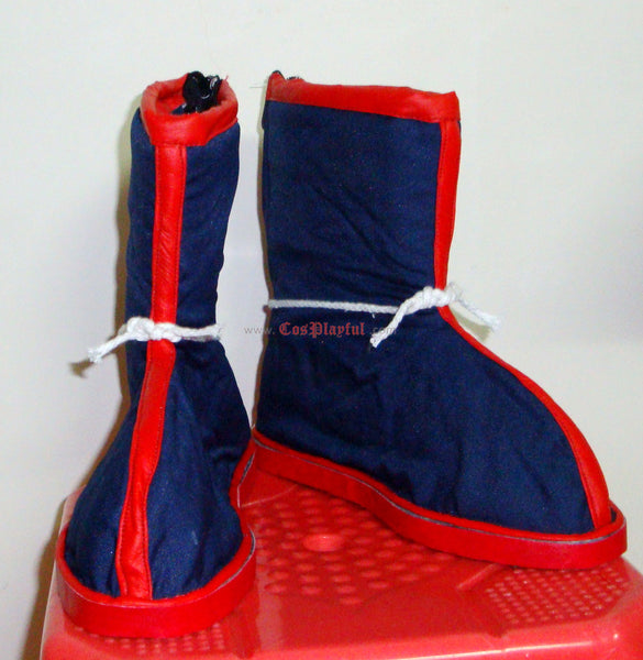 Inspired by Dragon Ball - Goku Cosplay Shoe / Cosplay Boots