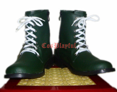 Inspired by Lita Kino - Sailor Jupiter Cosplay Shoes