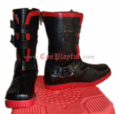 Inspired by Edward Elric Full Metal Alchemist Cosplay Boots / Cosplay Shoes