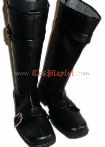 Inspired by Cosplay Boots Brown UK15