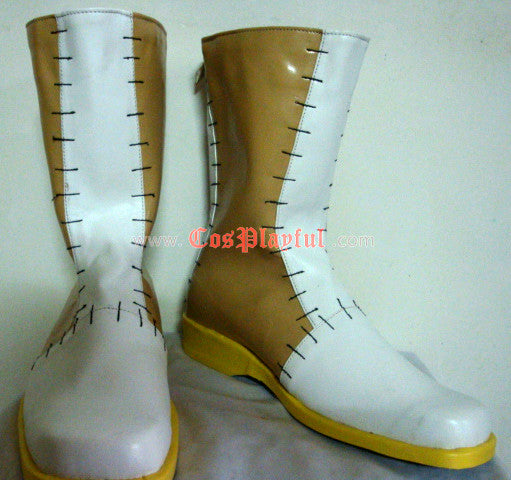 Inspired by Soul Eater Dr. Franken Stein Cosplay Boots