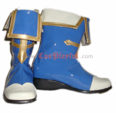 Inspired by BlazBlue Jin Kisaragi Cosplay Boots