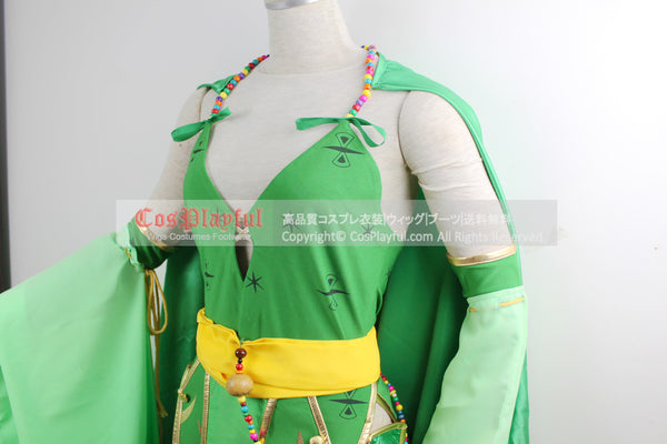 Inspired by Rydia Final Fantasy IV (4) Cosplay Costume with Boots Cover