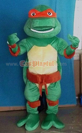 Inspired by Ninja Turtles Adult Cosplay Mascot Costume