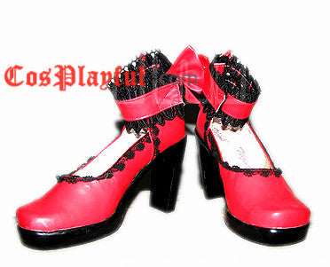 Inspired by Chii Lolita Cosplay Shoe