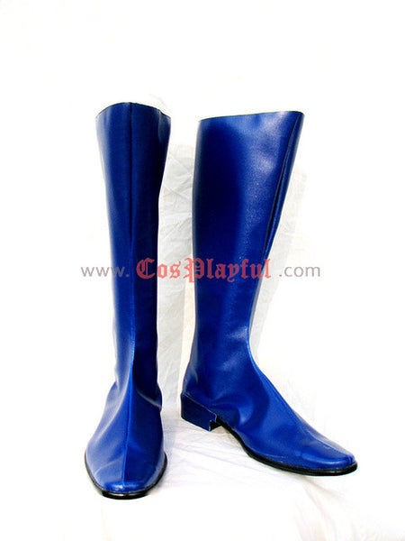 Inspired by Sailor Moon Ami / Amy Mizuno Sailor Mercury  Cosplay Boots