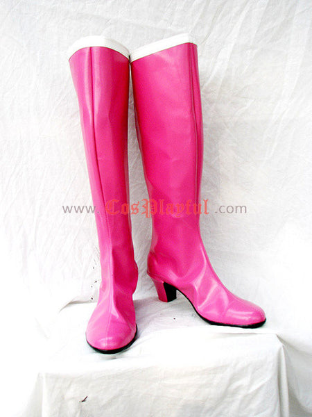 Inspired by Sailor Moon Serena / Usagi Tsukino Cosplay Boots Pink