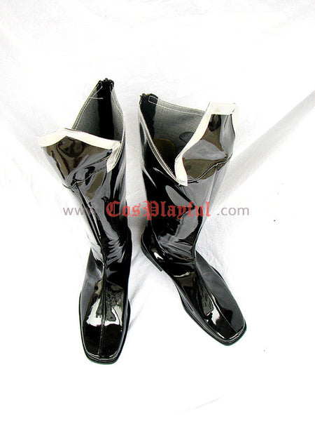 Inspired by Trinity Blood Cosplay Boots Black