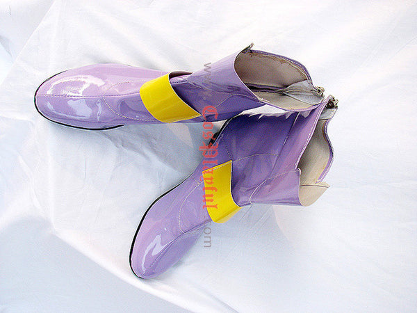 Inspired by Magical Girl Lyrical Nanoha Fate Testarossa Cosplay Boots