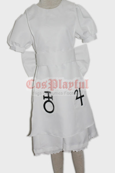 Commission Alice Madness Hysteria Dress  White - Cosplayful