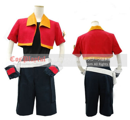 Inspired by Pokemon Jack Walker Cosplay Costume