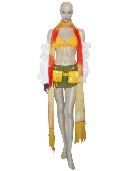 Inspired by Rikku Final Fantasy X-2 Cosplay Costume