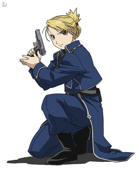 Inspired by Riza Hawkeye Full Metal Alchemist Cosplay Costume