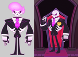 Commission Lewis from Mystery Skulls Ghost Cosplay Costume - Cosplayful
