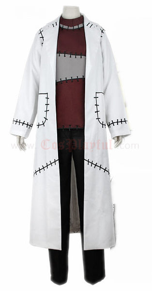 Inspired by Soul Eater Dr. Franken Stein Cosplay Costume