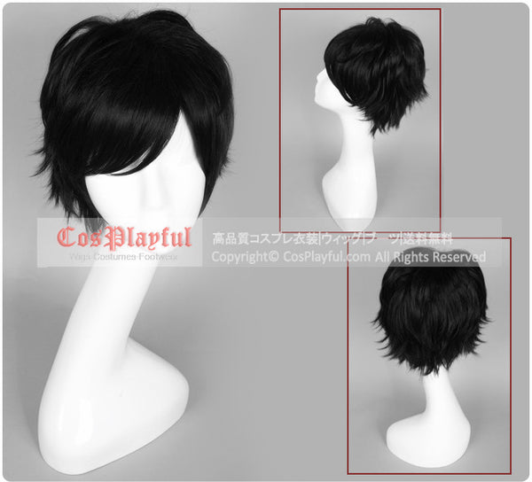 Inspired by Devil Survivor Hibiki Kuze Cosplay Wig