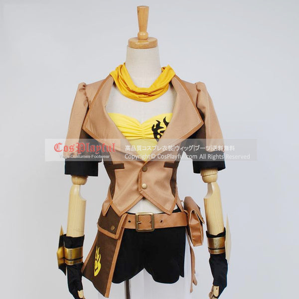 Inspired by Yellow Trailer  from RWBY Yang Xiao Long Cosplay Costume