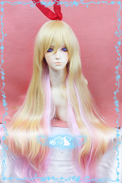 Inspired by Nisekoi: False Love Chitoge Kirisake Cosplay Wig