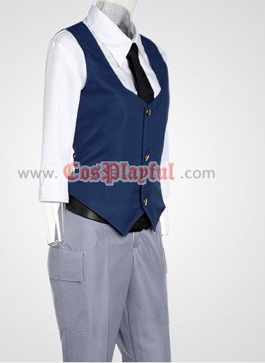 Inspired by Assassination Classroom Nagisa Shiota Cosplay Costume - Ver 2