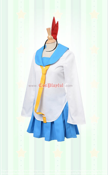 Inspired by Nisekoi: False Love Chitoge Kirisake Cosplay Costume