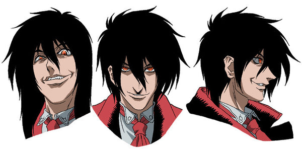 Commission Hellsing Alucard Cosplay Wig - Cosplayful