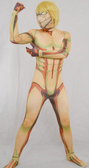 Inspired by Armored Titan from Attack on Titan Cosplay Costume Jumpsuit - Cosplayful