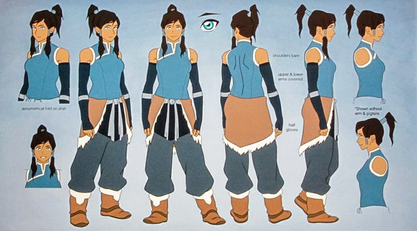 Commission Cosplay Costume  Inspired by Korra from Legend of Korra