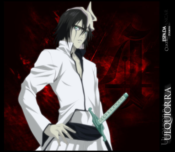 Inspired by Ulquiorra Espada #4 Arrancar Costume Bleach Cosplay