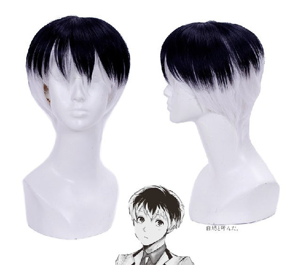 Inspired by Ken Kaneki from Tokyo Ghoul Cosplay Wig High Quality