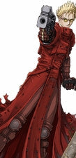 Inspired by Trigun Vash the Stampede Cosplay Costume