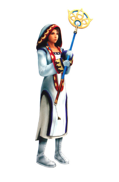 Inspired by Yuna - White Mage Final Fantasy X-2 Cosplay Costume