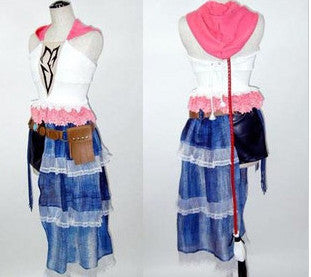 Inspired by Yuna Final Fantasy X-2 Cosplay Costume