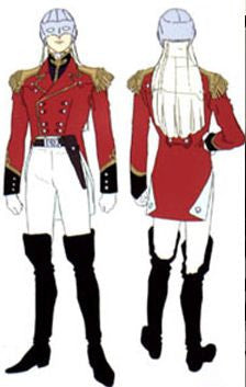 Inspired by Mobile Suit Gundam Zechs Marquise Cosplay Costume