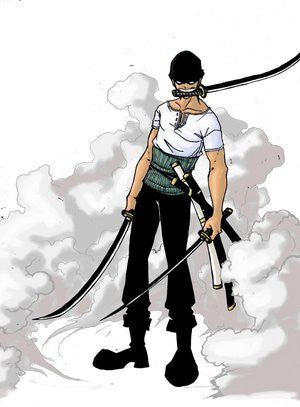 Inspired by One Piece Roronoa Zoro Cosplay Costume