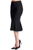 Sarit Skirt - Seamed Ponte mermaid skirt