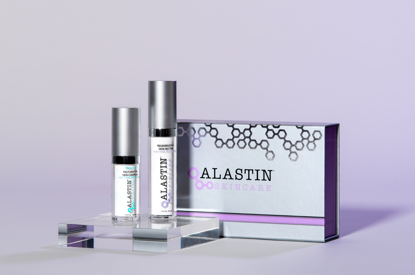 TriHex Transition Duo for best results with surgical neck and décolleté treatments | ALASTIN Skincare