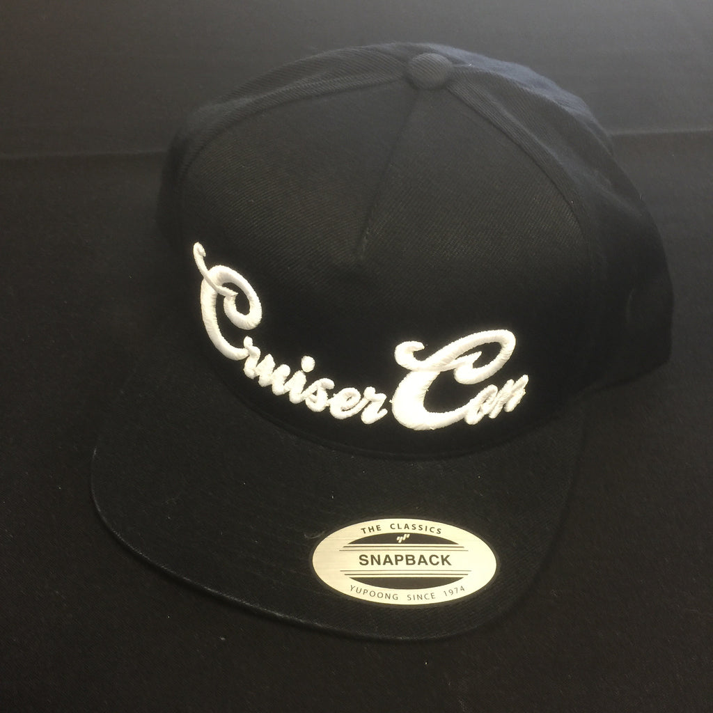 Hat CruiserCon Embroidered Black/White