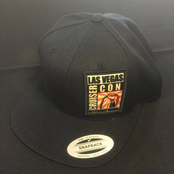 Hat CruiserCon Patch Black/Black