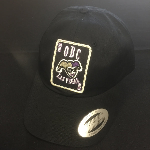 Hat OBC2018LV Patch Dad Hat Black