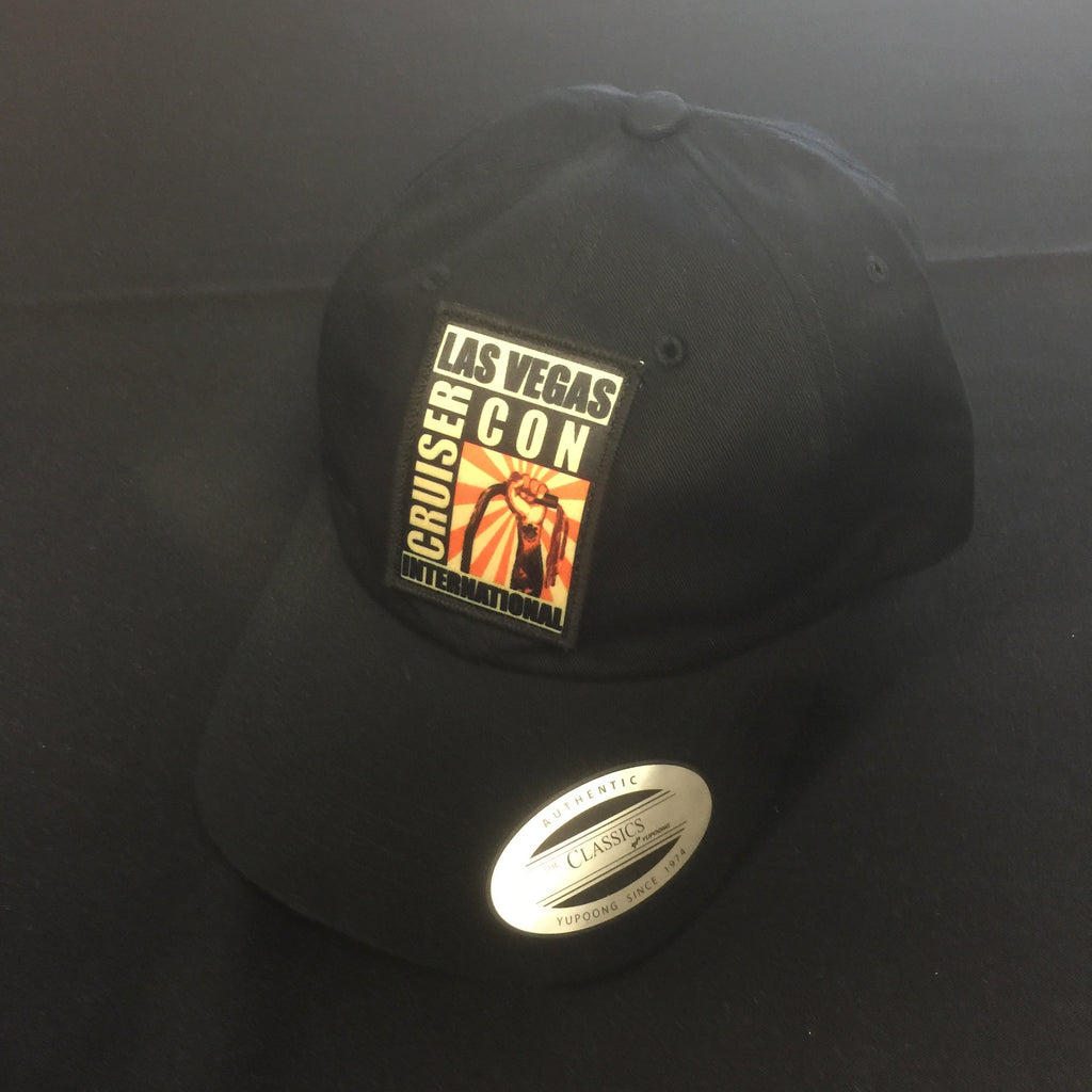Hat CruiserCon Patch Dad Hat Black