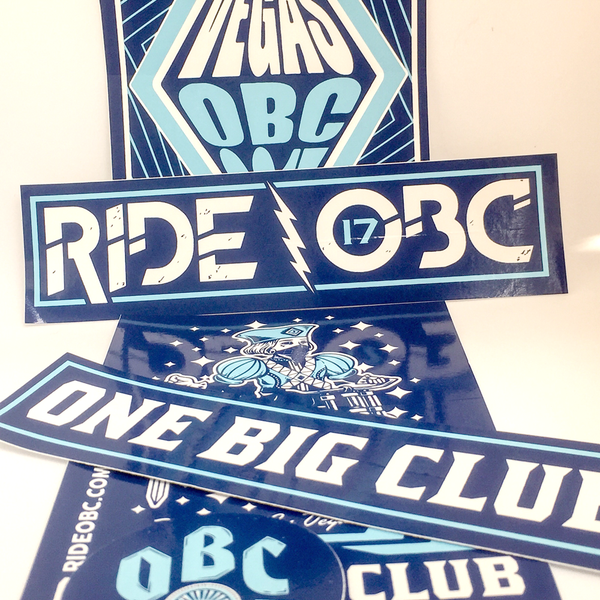 RideOBC Sticker Pack 1