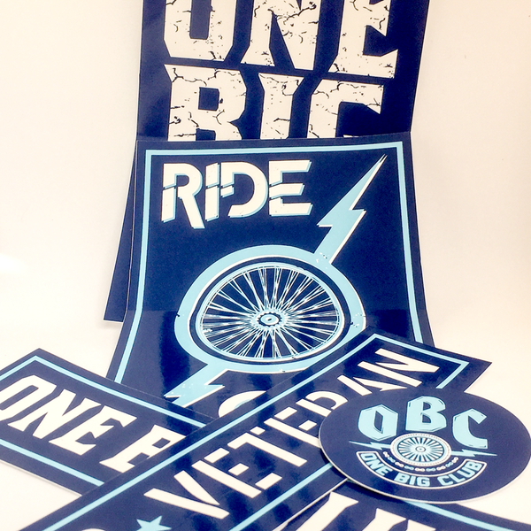 RideOBC Sticker Pack 2
