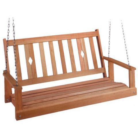 Oak Porch Swing - Benefits of Oak-Based Furniture