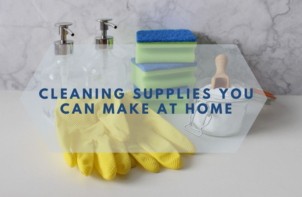 Cleaning Supplies You Can Make at Home
