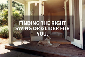 Finding the Right Swing or Glider for You