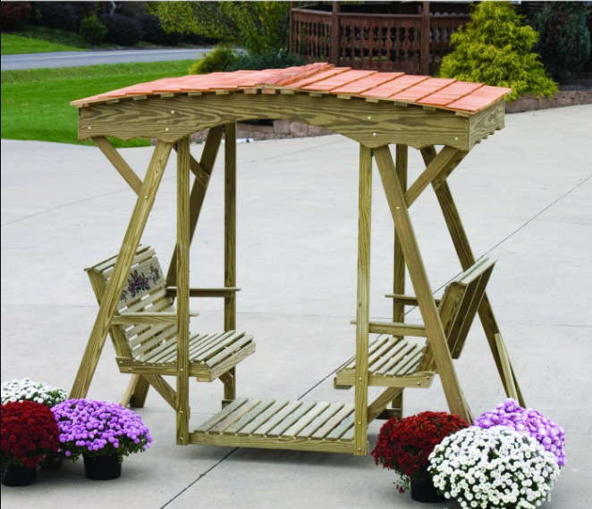 Why Is a Lawn Glider a Great Gift For Your Outdoor Setting