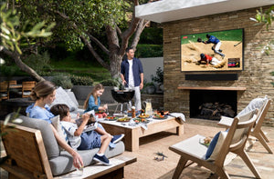 Designing your outdoor space around the new Samsung Terrace TV
