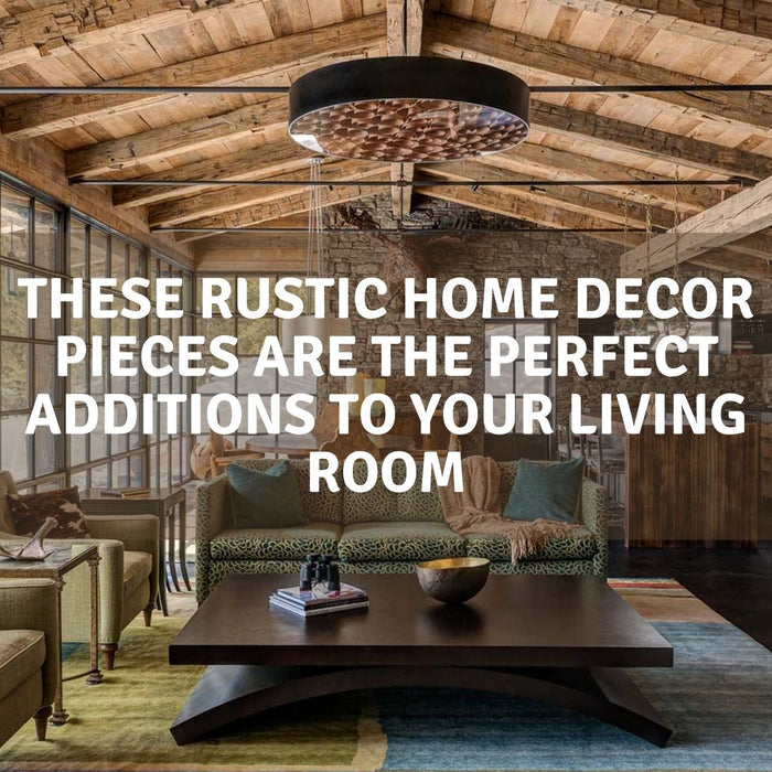 rustic home decor pieces