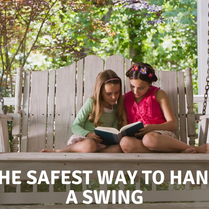 How to hang a swing under a deck
