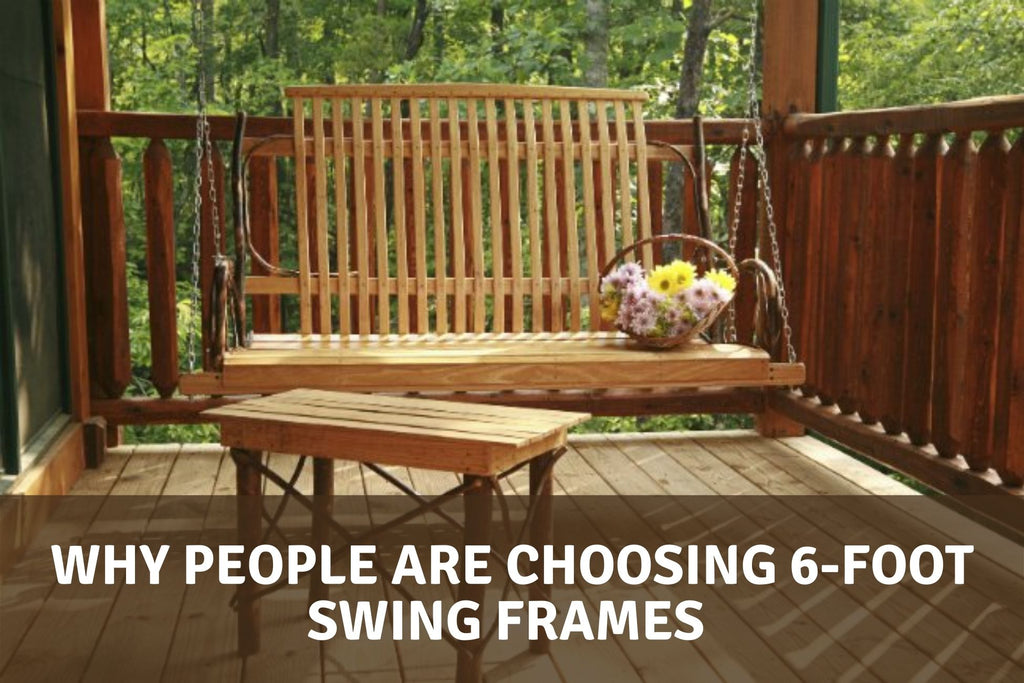 Why People are Choosing 6-Foot Swing Frames